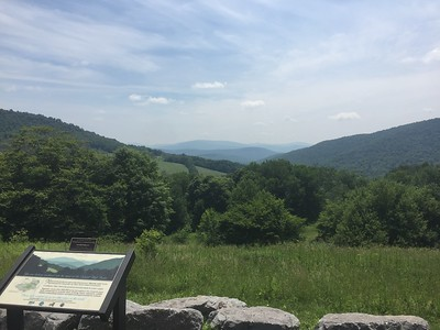 The drive from NYC to Cooperstown takes you through the high rolling hills of the Catskills.  It's one very relaxing ride, especially on the narrow county roads.