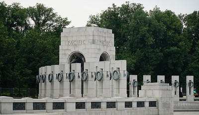 World War II Memorial, the South Pavilion, commemorating the War in the Pacific.