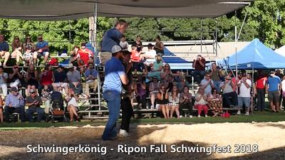 Ripon Fall Schwingfest 2018 - Championship Match