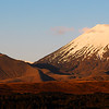 Mt Tongariro at sunset