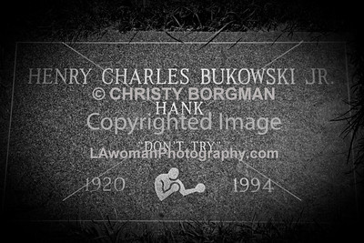 Henry Charles Bukowski Jr. August 16 1920 - March 9, 1994. Green Hills Memorial Park Cemetery.
