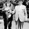 Hugh McQuillan {Right} with Friend<br /> , East Northport, <br /> Late 20's, or early 30's