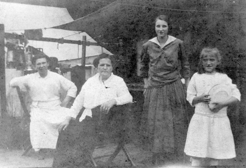 l-r, 2nd woman is Nanny's Grandmother, Nanny on right