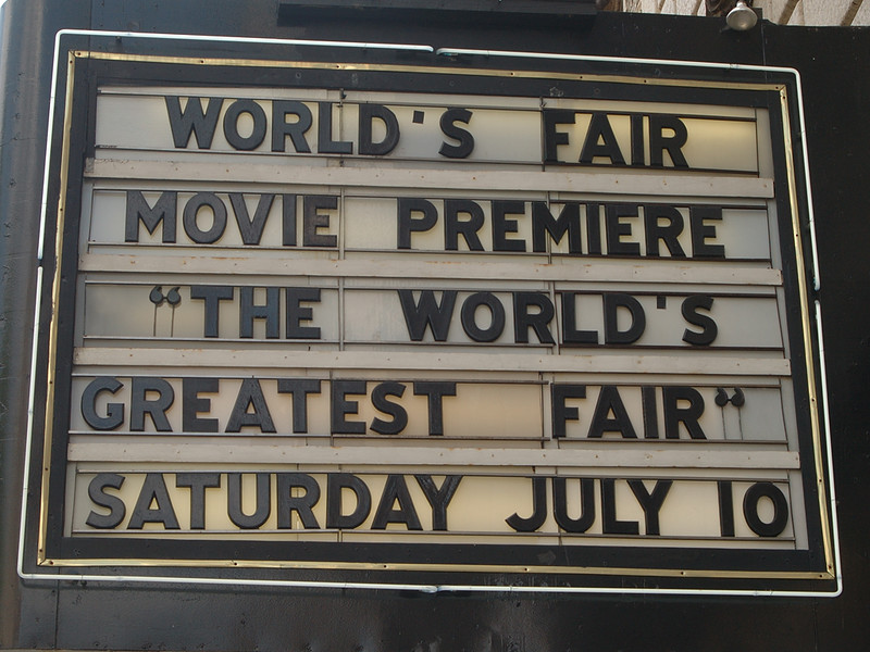 The marquee of the Fabulous Fox Theatre