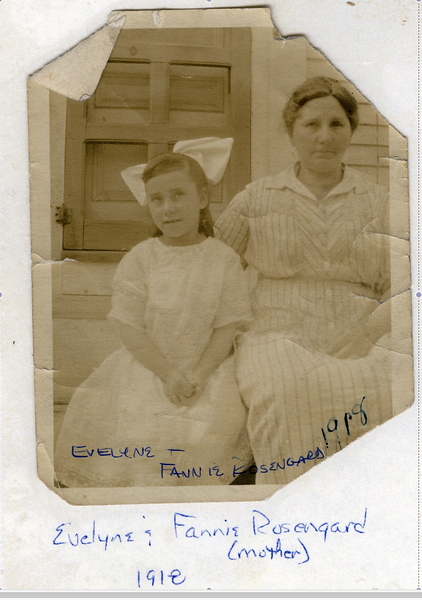 1918 Fannie and Evelyne Rosengard