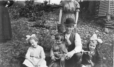 Blanche, Albert, Romuald, Cecile