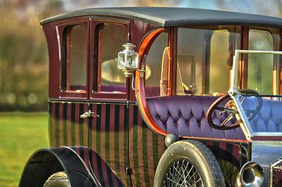 "1911 ROLLS ROYCE SILVER GHOST OPEN DRIVE LIMOUSINE BY GROSVENOR ""The Dreamer"""