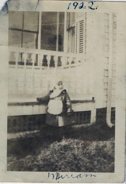 1922 Miriam Cook