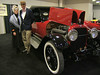 Our Mercer was invited to be in the large St. Louis Auto show this weekend. <br /> The five cars were all from the Roaring 20's.  There was a Moon, Buick, <br /> Packard, Pierce-Arrow and our Mercer.  Sharon and I dressed in '20's' clothes<br /> and had a great time.   There were lots of people and questions.