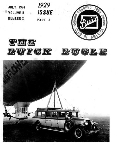 Buick Bugle - July 1974