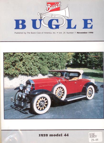 29-44 - Owned byGene Auber - Nov. 1990