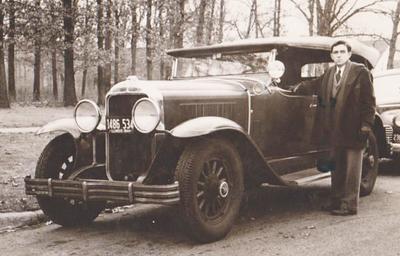 29 Buick Touring Car - Circa 1944
