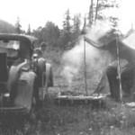 29-44 McL-Buick roadster - circa 1950-55 - camping