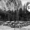 """November 1928:  Here is very rare photos of 37 - 1929 Buicks sent in by Norm McKendry (54CC).  """"I think this is the largest number of '29s ever captured in surviving photos!  It is from an internal Newsletter of the Howard Automobile Buick collection, who in 1928, claimed to be the largest automobile (Buick) distributor in the world !  Also, a description of all of the background details of this remarkable event follows in the next 4 photos.  It is interesting to note that the only performance problem was a flat tire and that the vast majority of the Buicks in the photo have no side-mounts and even by November 1928, few cars appear to have radiator emblems."""