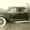 "29-44 with late hubcaps and interestingly patterned W/W tires called ""white diamond walls"". (1 of 3 pictures)."