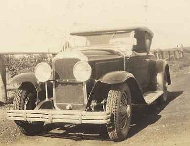 1929 Buick Roadster (note:  no radiator badge)