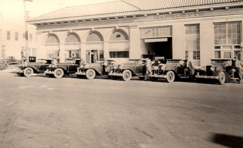 New 1929 Buicks at Dealership