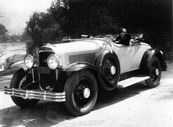Factory shot of 29-44 roadster