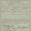 NJ 29 Buick Car Sale Registration (1943)