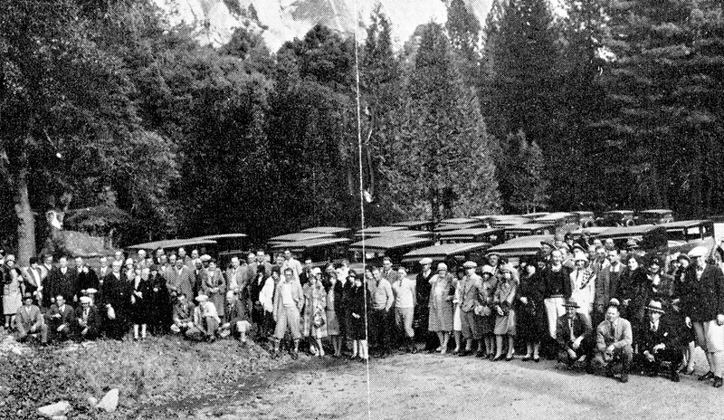 Participants of the 37 - 1929 Buick Tour by the Howard Dealership in Oakland, CA.