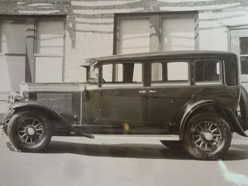29 Buick with Buick logo pressed in Louvers - from the Terry B.Dunham Memorial Collection now owned by The Buick Heritage Alliance ()