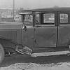 Damaged Sedan (note: no door handles)