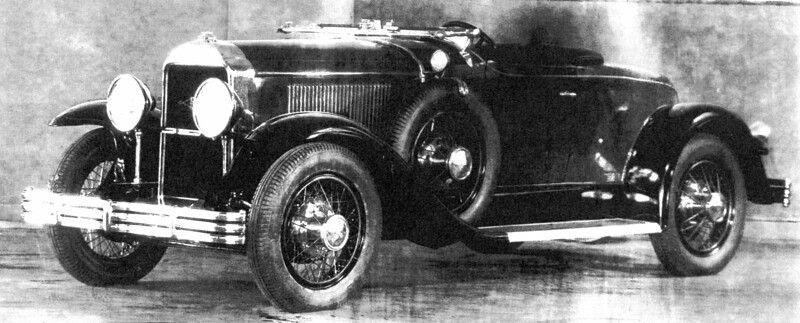 From the Nethercutt Museum collection:   Photo depicts a 1929 Buick Model 44 roadster converted into a boat-tail model.