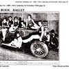 "(2 of 3).  Further information from Rick Beazley:  The original photo (1 of 3) was taken on the 17 November 1928 at West's Picture Theatre in Hindley Street, Adelaide, South Australia. The new Silver Anniversary Buick was officially announced on the 31 October 1928 Australia wide. An article in The Advertiser (Adelaide) 17 November 1928 states that the first local Silver Anniversary Buick had just been sold and that ""a Buick car will be taken on the stage at West's Pictures today in connection with the ballet"".   The photograph was published in the newspapers. The Advertiser (Adelaide) printed it on the 24 November 1928 with the tile ""The Buick Ballet"". It states ""the clever ballet at West's Pictures has scored a success this week with a novel specialty in honor of the Buick Silver Anniversary"".   The photo was used again, slightly modified, in the Sunday Times (Sydney, New South Wales) on the 23 December 1928 with the title ""Demonstrating The Fine Points of Buick"". The comment reads; ""a bunch of beach girls giving the new Buick Silver Anniversary the necessary summer atmosphere. The girls gave the Buick a good kick-over, after its announcement in Adelaide, and used the car in their turn on West's circuits"".   Probably need to point out that November and December are summer down here, hence the bathing costumes ! (Also see pictures 1 & 3)."