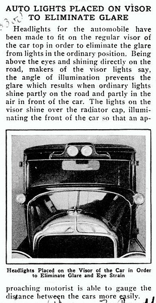 Popular Mechanics after-market Buick spotlights.