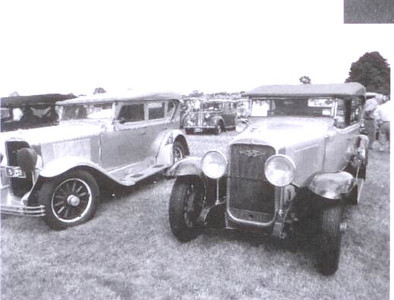 Two 29 Buick Touring cars at Begonia 2011 Rally