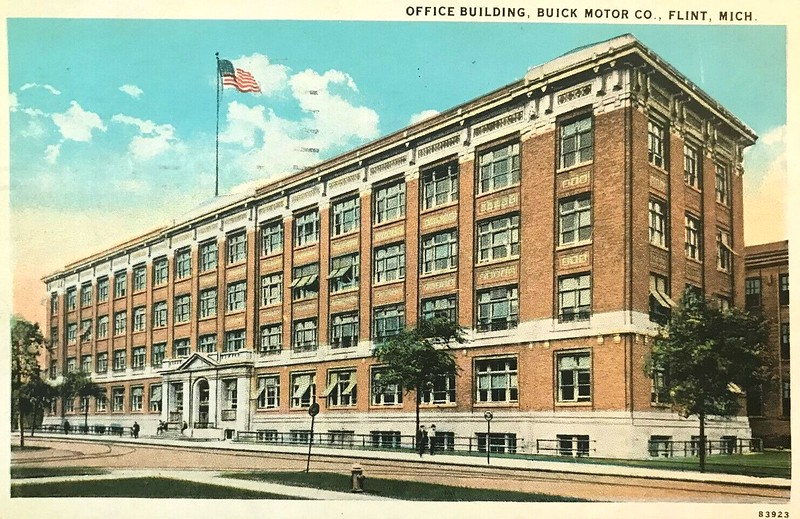 Buick Office Building, Flint, MI, USA - circa 1929.