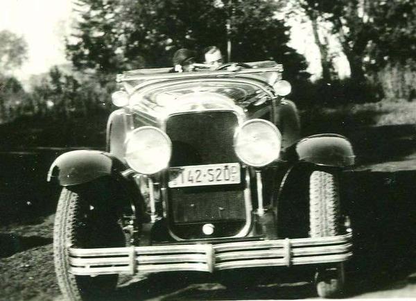 29-44 Roadster - Circa 1931