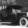 1929 Buick Hearse, RHD with F.E. Watts Latrobe  on side.  From Tasmania - Australia