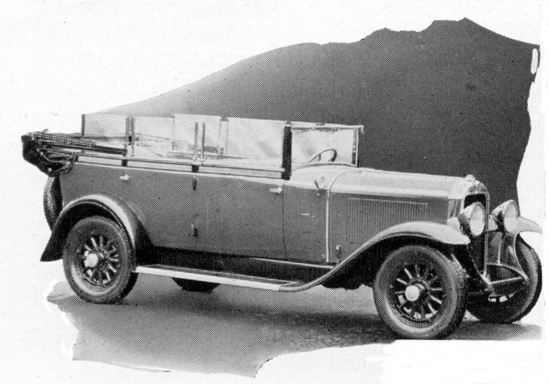 Germany - Special Convertible / cabriolet model (likely built from model 50L)