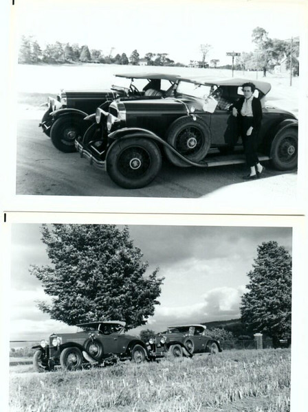 29-44 McL-Buick roadster withg 29-44 Buick roadster in Vermont - circa 1950-55