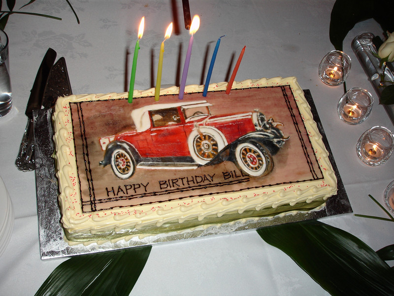 29 Buick birthday cake