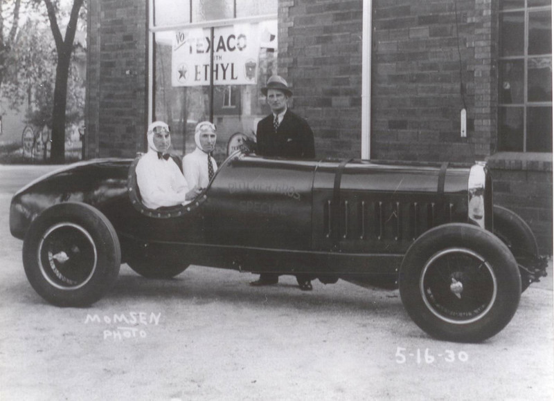"1929 Buick (121"" series) which raced in 1930 Indianapolis 500 race (ran 127 laps)"