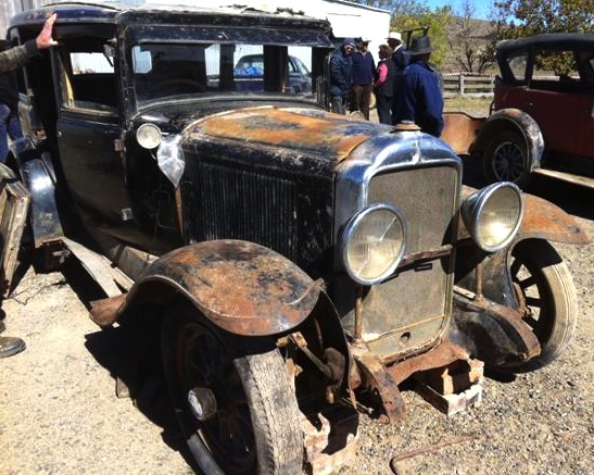 4 Door Sedan - sold at a farm auction in Australia for Aust.$3,250. (April 2013)