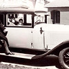 Max Bernstein, wife Rose and son Jerold with his new 1929 Buick model 20, in Milwaukee (Circa 1929)