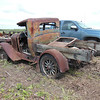 1929 McLaughlin Buick model 29- 27 that had been converted into a pickup, sold for $500 at a farm auction near Mayerthorpe, Alberta.  Most parts present but car/truck was in poor condition.