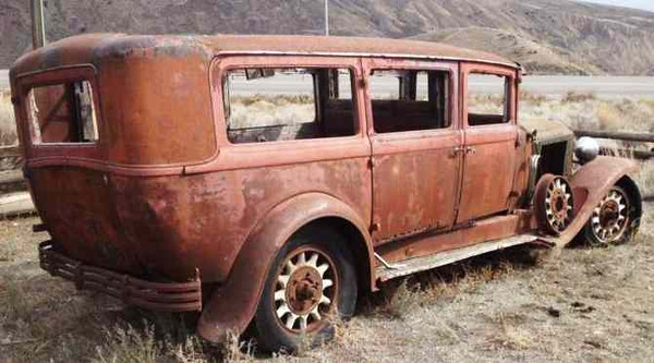 1929 McLaughlin Buick Hearse from Kijiji Ad in Grande Prairie, Alberta, Canada.