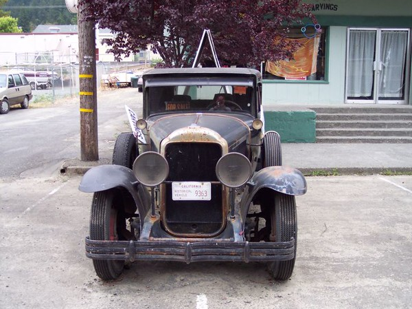 29 Buick converted to truck - Photo #1