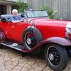 29-24.  Bill McL in John G.'s Australian roadster (circa 2007)
