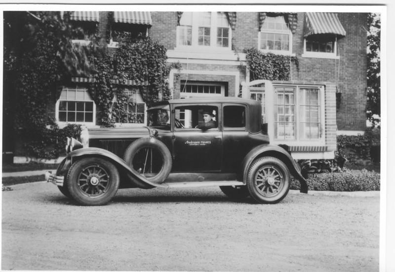 Andersen Windows Display car - original photo (circa 1932)