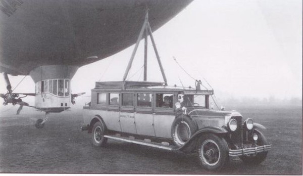 1929 Flxible-Buick Blimp Tender (from: Flxible - Professional Vehicles: The Complete History)