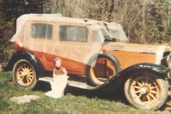 29-41 McLaughlin Buick - circa 1960's.  Car restored by Peter Douma over 10 year period 1976-86.