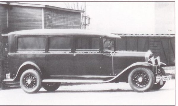1929 Flxible-Buick Ambulance (from: Flxible - Professional Vehicles: The Complete History)