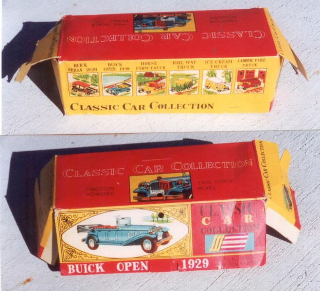 1929 Buick Open Car Toy - Box