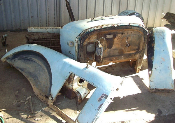 29-54CCX - in Western Australia - awaiting restoration