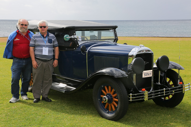 29-25X Owned by Wayne Clout (right) in Australia.  Photos taken by Alistair Turnbull at the Buick Nationals in NSW last summer.  Courtesy of The Buick Car Club of Australia